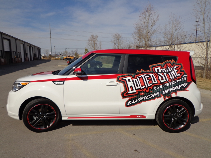 Bolted Spine Designs Vehicle Wraps